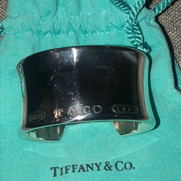 Tiffany & Co. Jewelry - Tiffany & Co 1837 Cuff bracelet